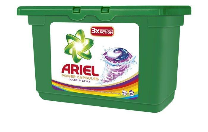 "Prací gel ""Color& Style "", 15 ks, Ariel"