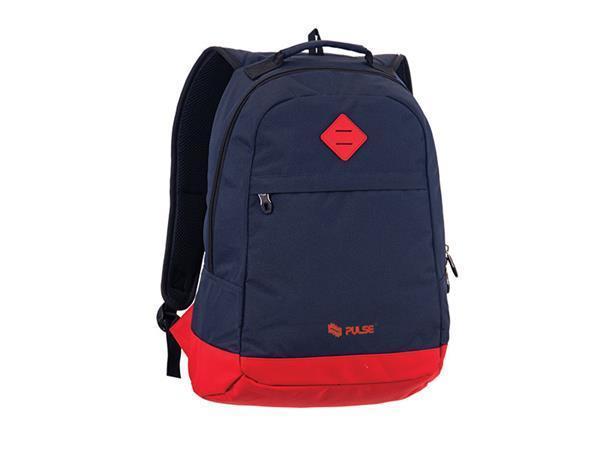 """Batoh """"Bicolor"""", modrý-červený, s přihrádkou na notebook, PULSE"""
