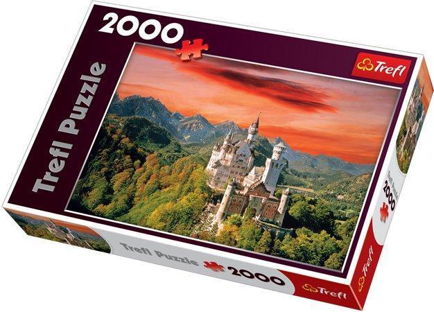 """Puzzle """"Neuschwanstein Castle"""", 2 000 dílů, TREFL"""