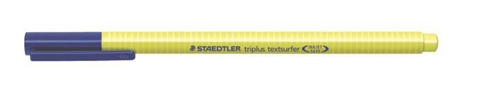 "Zvýrazňovač ""Triplus textsurfer 362"", žlutá, 1-4 mm, STAEDTLER"