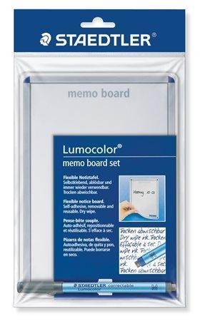 """Tabule na poznámky """"Lumocolor Memo Board"""", samolepící, přepisovací, 21x14,8 cm, STAEDTLER"""