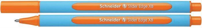 """Kuličkové pero """"Slider Edge XB"""", oranžová, 0,7mm, s uzávěrem, SCHNEIDER"""