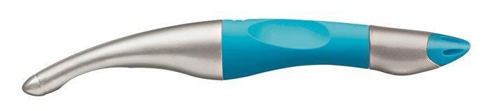 """Roller """"EasyOriginal Start"""", metalická/neon modrá, 0,5 mm, pro leváka, modrá, STABILO"""