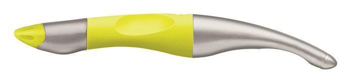 """Roller """"EasyOriginal Start"""", metalická/neon žlutá, 0,5 mm, pro praváka, modrá, STABILO"""
