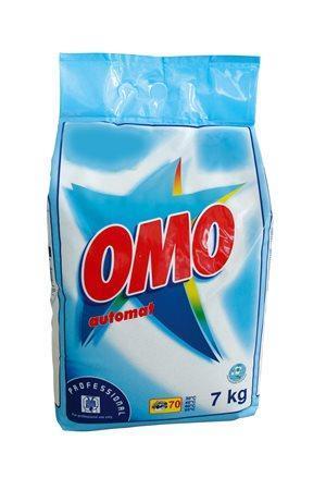 Prášek na praní, 7 kg, OMO, white