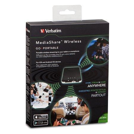 Streamovací zařízení (MediaShare Wireless Portable Streaming Device), VERBATIM