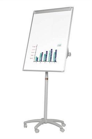 Flipchart, magnetický, 70x100cm, mobilní, VICTORIA