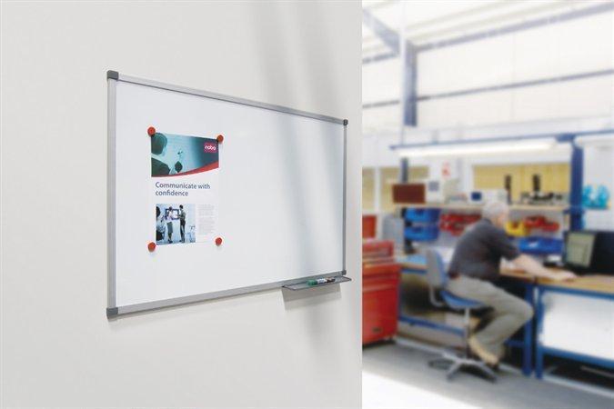 """Bílá tabule """"Classic"""", 120x180cm, hliníkový rám, NOBO"""