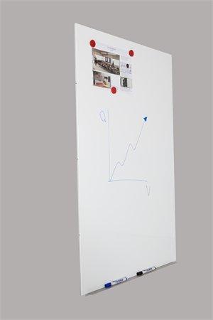 Bílá tabule 750x1150x10mm, lakovaný povrch