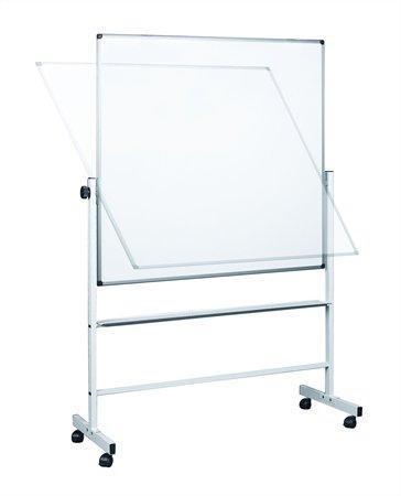 Otočná tabule, oboustranná, smaltovaný povrch, 90x120cm
