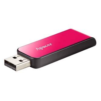 Apacer USB Flash Drive, 2.0, 8GB, AH334 8GB Flash Drive, růžový, AP8GAH334P-1