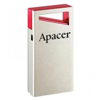 Apacer USB Flash Drive, 2.0, 16GB, AH122 16GB Flash Drive, červený, AP, 16GAH112R-1