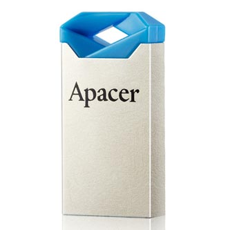 Apacer USB Flash Drive, 2.0, 16GB, AH111 Flash Drive, modrý, AP16GAH111U-1
