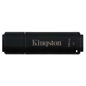 Kingston USB flash disk, 3.0, 16GB, Data Traveler 4000 G2 Management Ready, černý, DT4000G2M-R/16GB