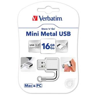 Verbatim USB flash disk, 3.0, 16GB, Store ,n, Go V3, stříbrný, 49839