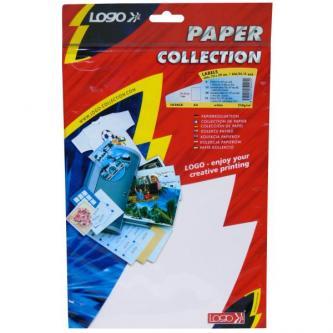 Etikety 210 x 297 mm, A4, matné, bílé, 1 etiketa, 140g/m2, baleno po 10 ks, pro inkoustové a laserové tiskárny