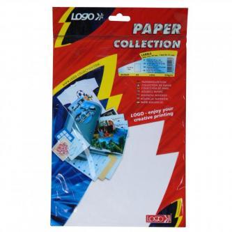 Etikety 210 x 297 mm, A4, matné, bílé, 1 etiketa, 140g/m2, baleno po 25 ks, pro inkoustové a laserové tiskárny