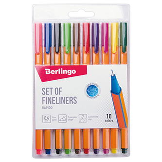 Berlingo, liner Rapido, color, 10ks, 0.4mm