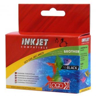 Inkoustová cartridge pro Brother DCP-330C, 540CN, 130C, MFC-240C, 440CN, black, 20ml, L, kompatibilní s LC1000B