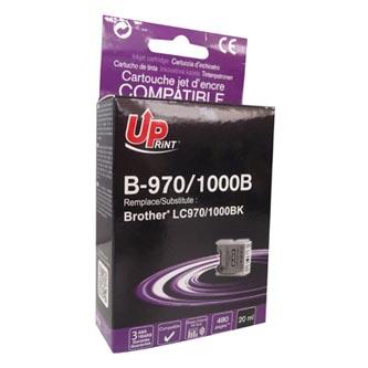 Inkoustová cartridge pro Brother DCP-330C, 540CN, 130C, MFC-240C, 440CN, black, B-970B, 18ml, UP, kompatibilní s LC1000B