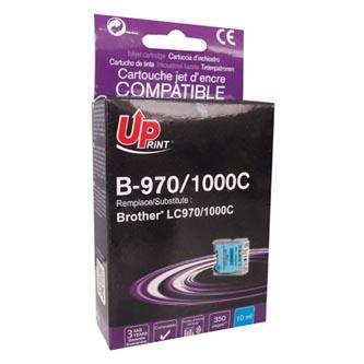 Inkoustová cartridge pro Brother DCP-330C, 540CN, 130C, MFC-240C, 440CN, cyan, B-970C, 10ml, UP, kompatibilní s LC1000C