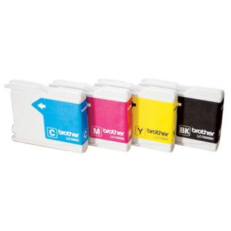 Inkoustová cartridge Brother DCP-330C, 540CN, 130C, MFC-240C, 440CN, LC-1000Y, yellow, 400s, O