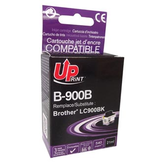 UPrint kompatibilní ink s LC-900BK, black, 21ml, B-900B, pro Brother DCP-110C, MFC-210C, 410C, 1840C, 3240C, 5440CN