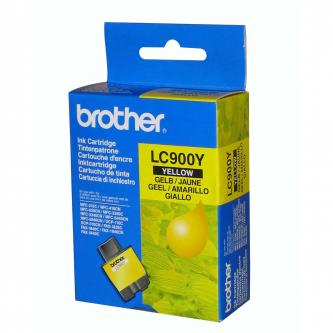 Inkoustová cartridge Brother DCP-110C, MFC-210C, 410C, 1840C, MFC-3240C, 5440CN, LC-900Y, yellow, 400s, O