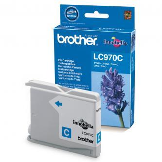 Inkoustová cartridge Brother DCP-135C, 150C, MFC-235C, 260C, LC-970C, cyan, 300s, O