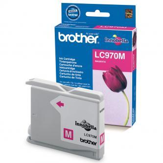 Inkoustová cartridge Brother DCP-135C, 150C, MFC-235C, 260C, LC-970M, magenta, 300s, O
