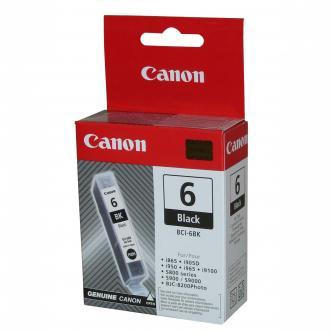 Inkoustová cartridge Canon S800, 820, 820D, 830D, 900, 9000, i950, BCI6BK, black, 4705A002, O
