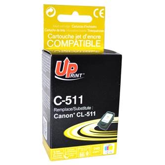 Inkoustová cartridge pro Canon MP240, MP260, CL511, color, C-511CL, 12ml, UP