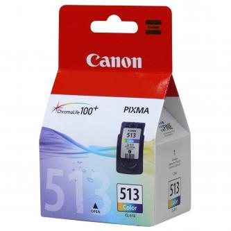 Inkoustová cartridge Canon MP240, MP260, CL513, color, 2971B004, 2971B009, 13ml, 350s, blistr s ochranou, O