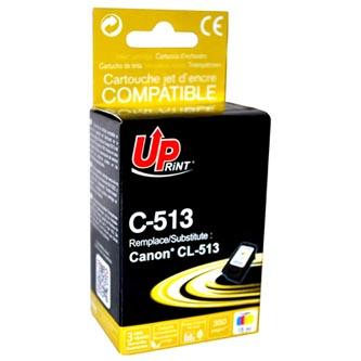 Inkoustová cartridge pro Canon MP240, MP260, CL513, color, C-513CL, 15ml, UP