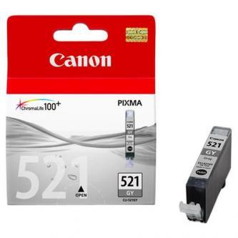 Inkoustová cartridge Canon MP980, CLI521GY, grey, 2937B001, 9 ml, 1395s, O