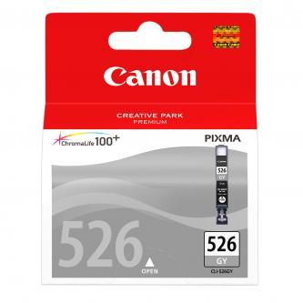 Inkoustová cartridge Canon Pixma MG6150, MG8150, CLI526GY, grey, 4544B006, 4544B004, 9ml, blistr s ochranou, O