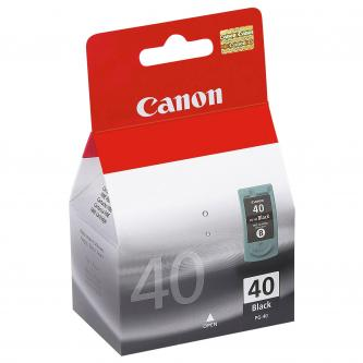 Inkoustová cartridge Canon iP1600, iP2200, MP150, MP170, MP450, PG40, black, 0615B042, 0615B006, 16 ml, 490s, blistr s ochranou, O