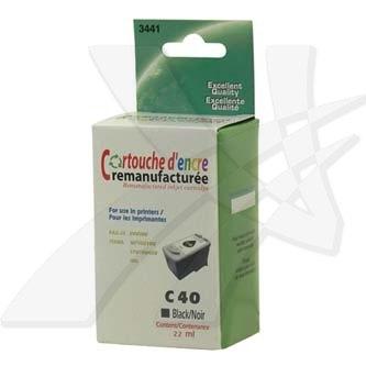 Inkoustová cartridge pro Canon iP1600, iP2200, MP150, MP170, MP450, PG40, black, 22 ml, N