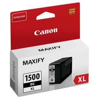 Canon originální ink PGI 1500XL, black, 34.7ml, 9182B001, high capacity, Canon MAXIFY MB2050, MB2350