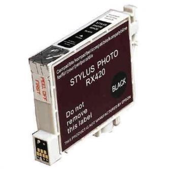 Inkoustová cartridge pro Epson Stylus Photo RX425, 420, black, 13ml, L, kompatibilní s T055140