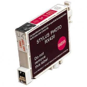 Inkoustová cartridge pro Epson Stylus Photo RX425, 420, magenta, 13ml, L, kompatibilní s T055340