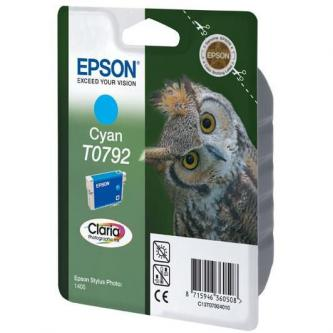 Inkoustová cartridge Epson Stylus Photo 1400, C13T079240, cyan, 11,1ml, Claria, O