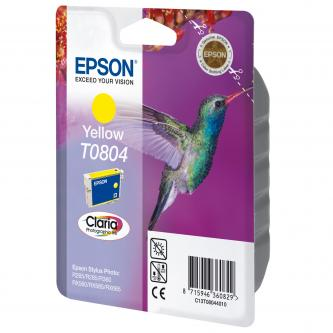 Inkoustová cartridge Epson Stylus Photo PX700W/800FW/R265/285/360/RX560/585, C13T08044021, yellow, 7,4ml, blistr s ochranou, O