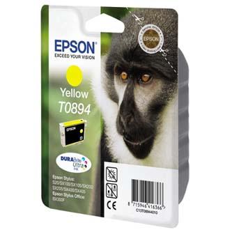 Inkoustová cartridge Epson Stylus S20/SX100/SX200/SX400, C13T08944011, yellow, 1*3,5ml, O
