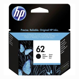 HP originální ink C2P04AE, HP 62, black, 200str., HP ENVY 5540 AIO, 5640 AIO, 7640 AIO, OJ 5740 AIO