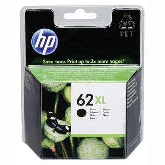 HP originální ink C2P05AE#301, HP 62 XL, black, blistr, 600str., HP ENVY 5540 AIO, 5640 AIO, 7640 AIO, OJ 5740 AIO