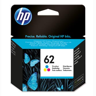 HP originální ink C2P06AE, HP 62, color, 165str., HP ENVY 5540 AIO, 5640 AIO, 7640 AIO, OJ 5740 AIO