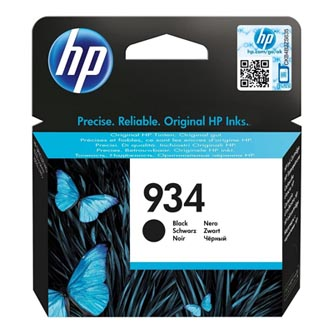 HP originální ink blistr, C2P19AE#301, No.934, black, 400str., HP Officejet 6812,6815,Officejet Pro 6230,6830,6835