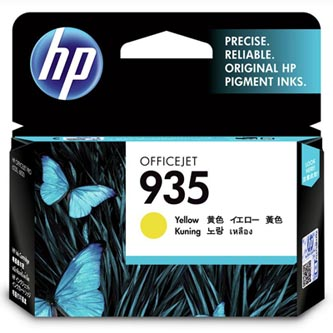 HP originální ink C2P22AX, HP 935, yellow, blistr, HP Officejet 6812,6815,Officejet Pro 6230,6830,6835