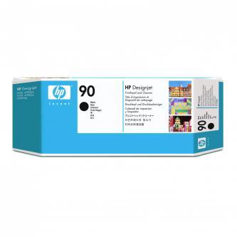 Tisková hlava a čistič hlavy HP DesignJet 4000, 4000ps, 4500, C5054A, black, No.90, tisková hlava, souprava,O